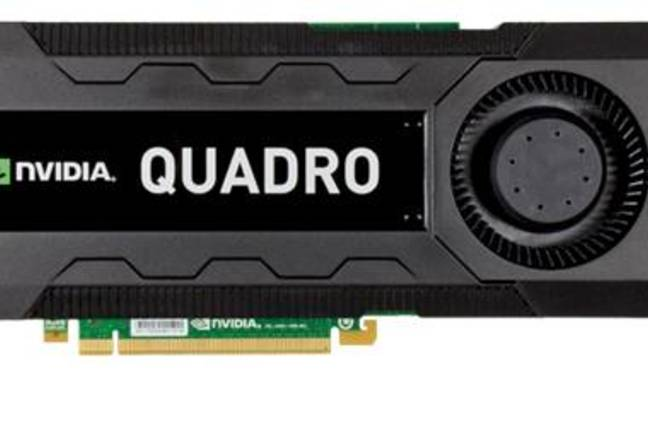 Nvidia's Quadro K5000 workstation graphics card