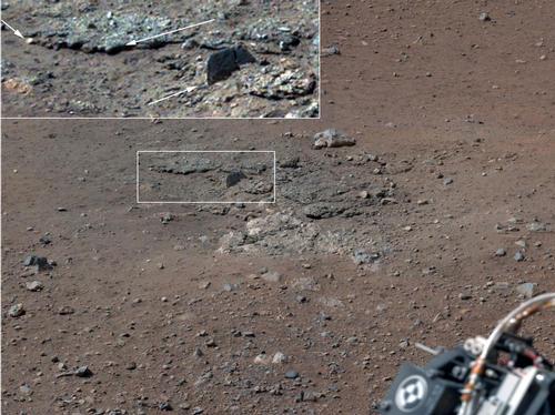 Rocks on Mars