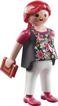 Playmobil's pregnant woman figure