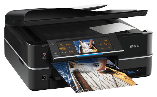 Epson Stylus Photo PX820FWD all-in-one inkjet photo printer