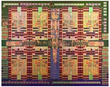 Die shot of the IBM Power7+ processor