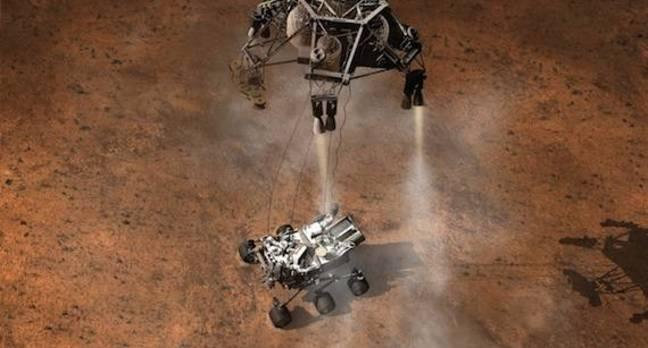 Mars Rover, credit NASA