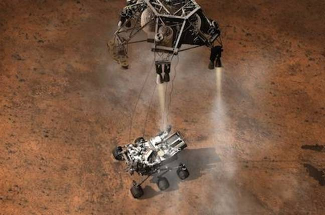 Mars Rover, credit NASA