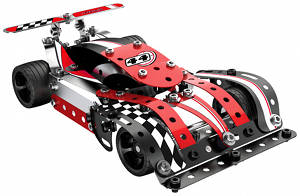 Meccano Turbo Evolution Red Car