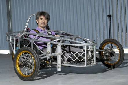Griffith University's experimental Android-driven car