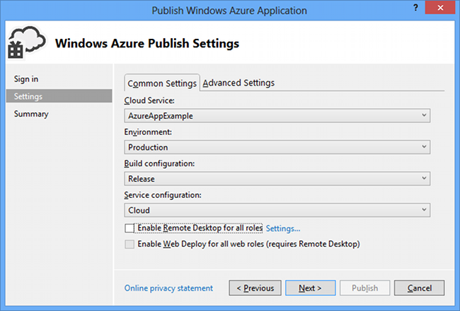 screen grab of Microsoft Azure sf for Tim Anderson piece