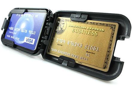 Flipside RFID-shielded wallet