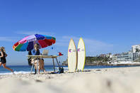 Telstra's 4G surfboards