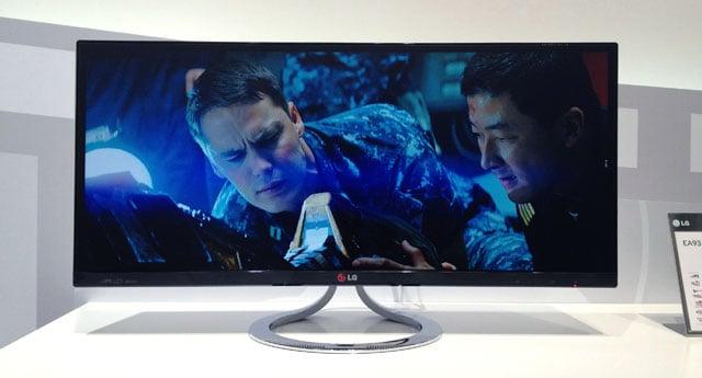 LG EA93 21:9 monitor