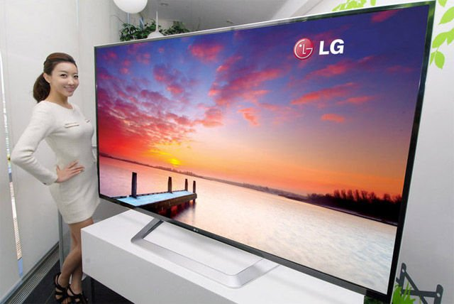 LG 84in UD 3DTV