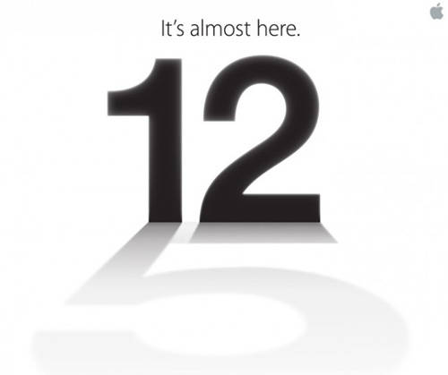 Apple's invite to a September 15 event in San Francisco