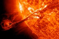 Solar filament eruption of August 31, 2012