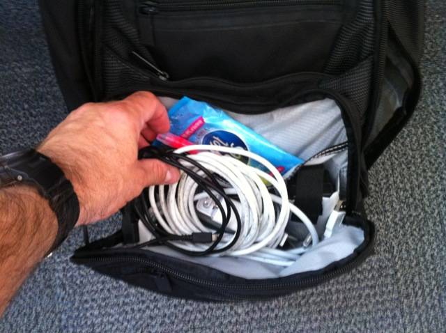 Inside Dabbsy's bag...