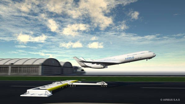 airbus predicts catapult takeoffs and formation flying by 2050 the