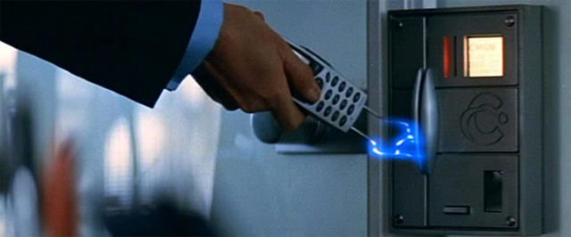 Ericsson phone in Tomorrow Never Dies
