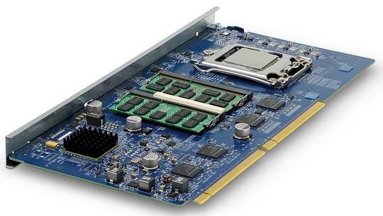 An Ivy Bridge Xeon E3 server node for the SM15000