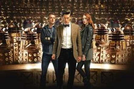 Dr Who Asylum of the Daleks Promo Pic