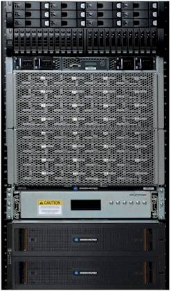 The AMD SeaMicro SM15000 server-storage cluster