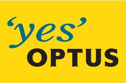 'Yes Optus' logo