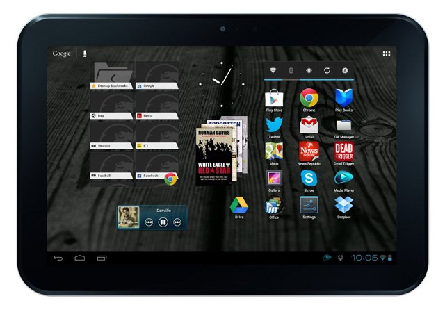 Toshiba AT300 Android tablet