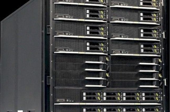 The Tecal E9000 modular server from Huawei