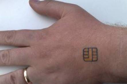 Smaller tatoo