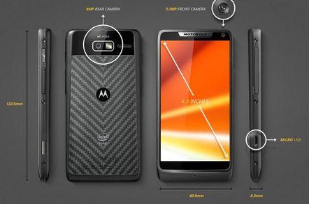 Motorola's Razr design daddy legs it, gets inside Intel