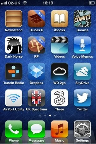 Apple iOS 6 UI