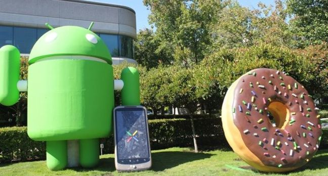 Google's Android statues