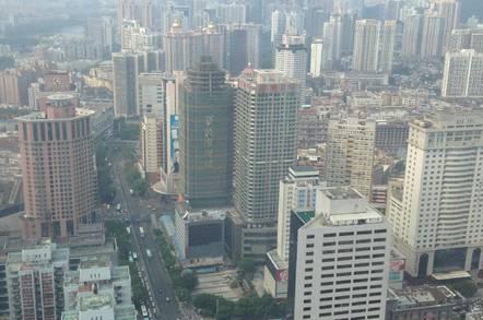 Shenzhen downtown