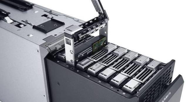 Dell EqualLogic storage blade
