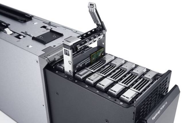Dell EqualLogic storage blade
