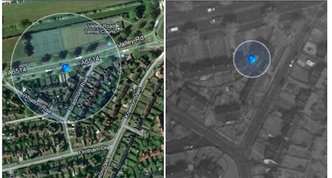 Before - and after, iOS Maps. Source: Richard Cartledge/Apple Support Forums