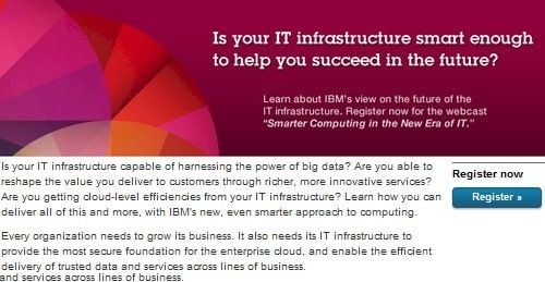 IBM Power7+ launch invite