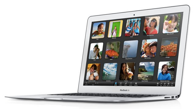 Apple MacBook Air 13in Ivy Bridge 2012