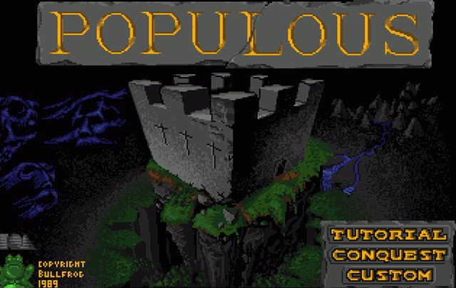 Populous 1989 Bullfrog Productions