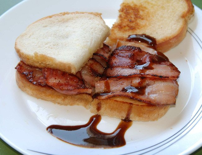 Chris Winpenny's part-toasted, gourmet presentation