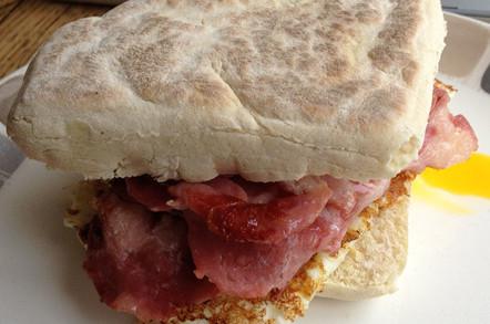 Phillip's bacon/soda bread combo