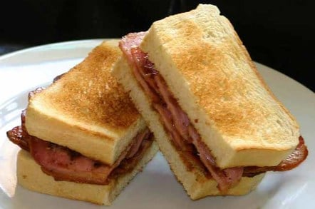 SuperTim's bacon bounty sarnie