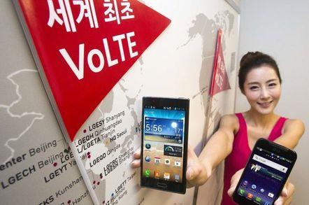 VoLTE Compatible LG Revolution
