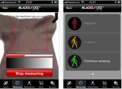 RFID Socks Appp screenshots