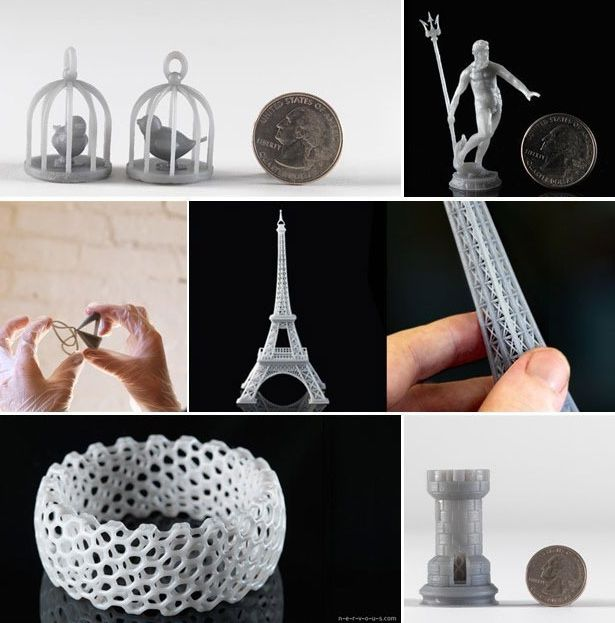 FormLabs Form 1 output examples
