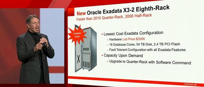 Oracle Exadata X3-2 configuration