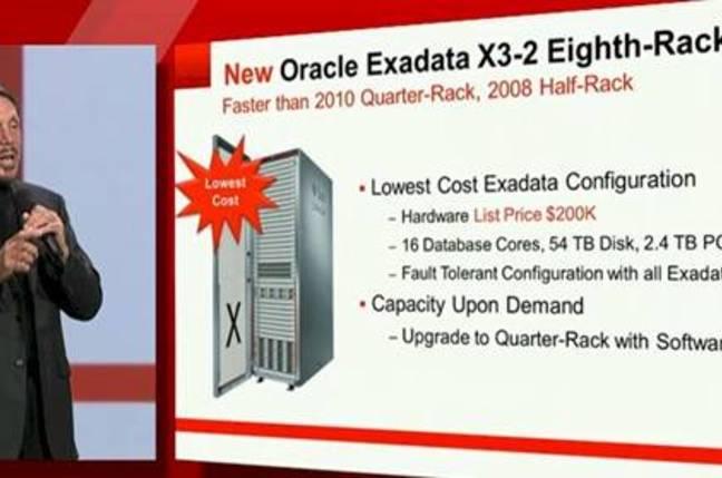 Oracle Exadata X3-2 configuration