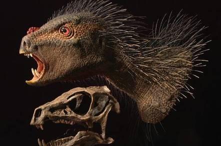 The Pegomastax africanus, courtesy University Chicago