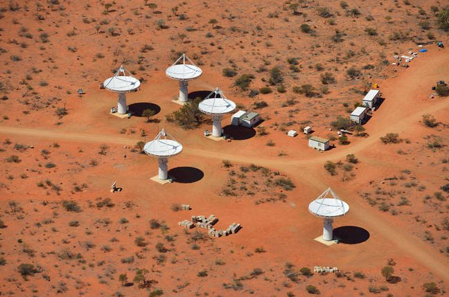 ASKAP from the air
