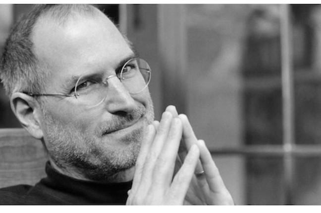 Steve Jobs, credit Apple site, screengrab