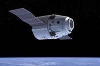 Space X Dragon in Orbit