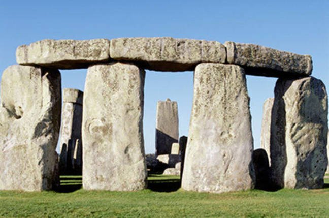 Stonehenge from the north east