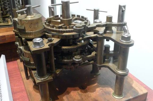 Babbage Difference Engine No. 1
